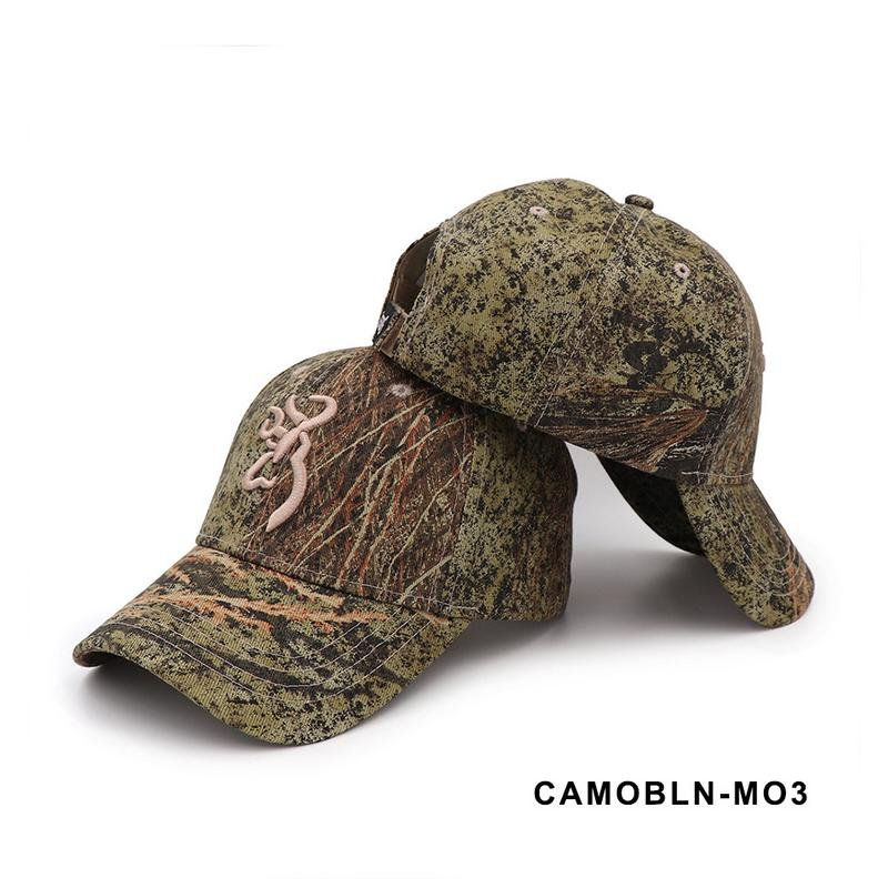 Dashing Outdoor Unisex Camping Camouflage Cap Browning Baseball Hunting Fishing Caps Jungle Airsoft Tactical Hiking Camo Hats Volume Large