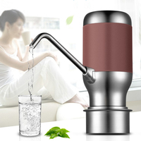 Practical Electric Portable Water Pump Dispenser Gallon Drink Bottle Switch Faucet Electric Water Bottle Pump