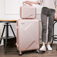 14'' 20 '' 24 '' 28'' ABS PC Zipper Spinner Rolling luggage suitcase maleta trolley valise koffer