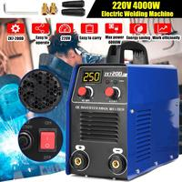 ZX7 200D 220V 10 200A 4000W Handheld Mini MMA IGBT Inverter 220V Mini Electric ARC Welding Welders Inverter Machine Tool