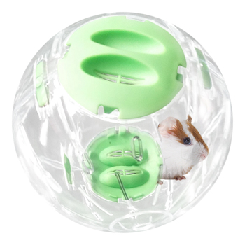 Hamster Breathable Clear Ball Without Bracket Hamster Toy Pets Product Small Running Ball 3  Colors Plastic Fit for Small Pets 5