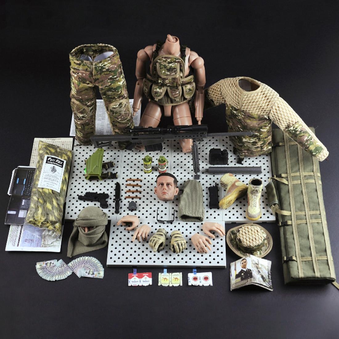30cm 16 realista soldado militar figuras de 04