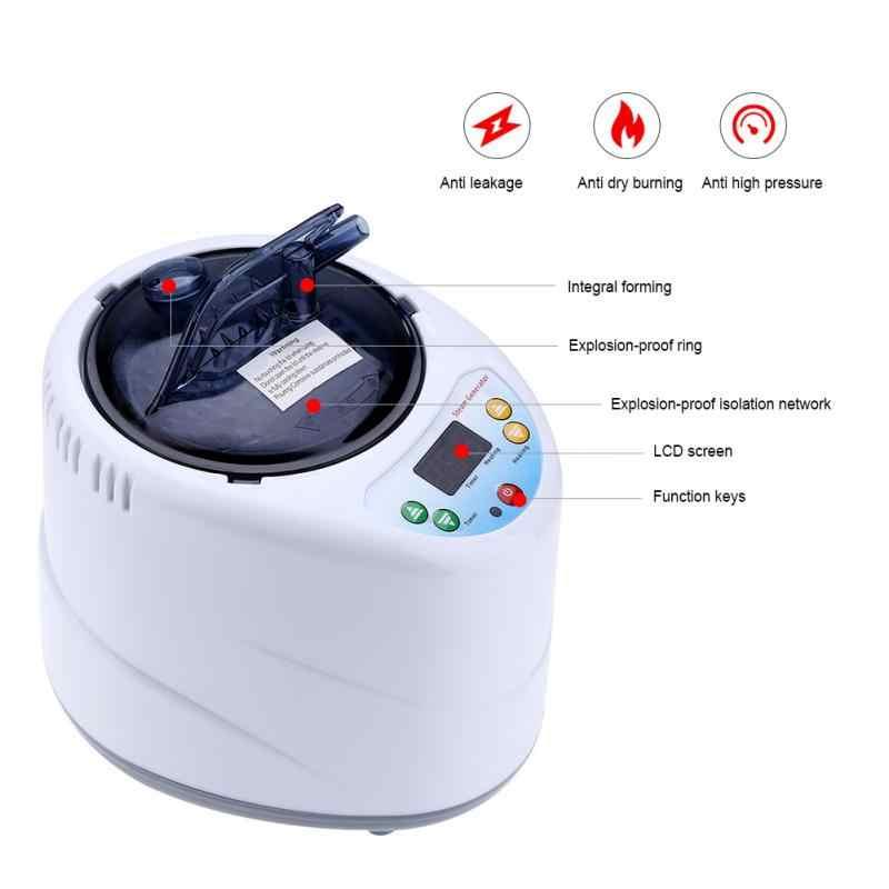 220 В 1.5L/2L фумигации машина надувной парогенератор бытовой сауна спа палатка комбинезоны терапии потеря веса сожженные калории