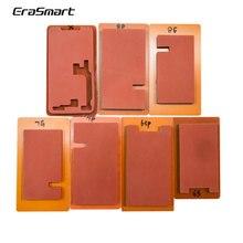 EraSmart ЖК-экран Восстановленный Lmainator коврик для iphone 8 Plus Переднее стекло с рамкой ламинатор Плесень Силиконовый коврик