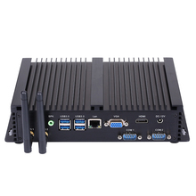 Fanless Industrial PC,Mini Computer,Windows 10,Intel Core I5 5250U,[HUNSN MA04I],(Dual WiFi/VGA/HD/3USB2.0/4USB3.0/LAN/2COM)