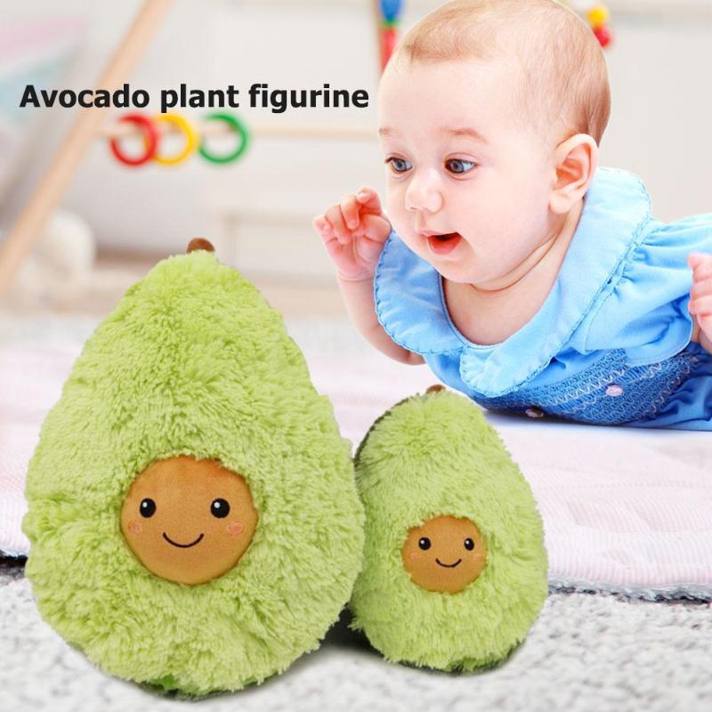 Avocado Plüsch Spielzeug Nette Baumwolle Gefüllte Puppen Obst Kissen Mädchen Baby Weiche Neue Jahr Kissen Für Kinder Kinder Weihnachten Geschenk