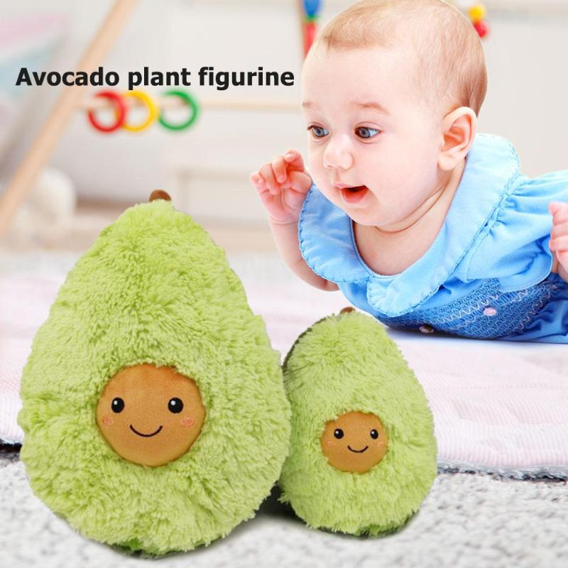 Avocado Plush Toys Cute Cotton Stuffed Dolls Fruits Cushion Girls Baby Soft New Year Pillow For Kids Children Christmas Gift