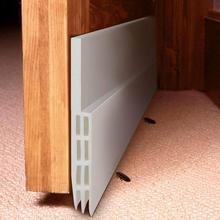 Дверь развертки погода зачистки звукоизоляционные резиновое дно уплотнение полосы стопор Осадка Excluder Защитите вашу дверь от жуков, насекомых