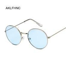 Óculos de sol unissex vintage, óculos escuros retrô oval uv400 de marca