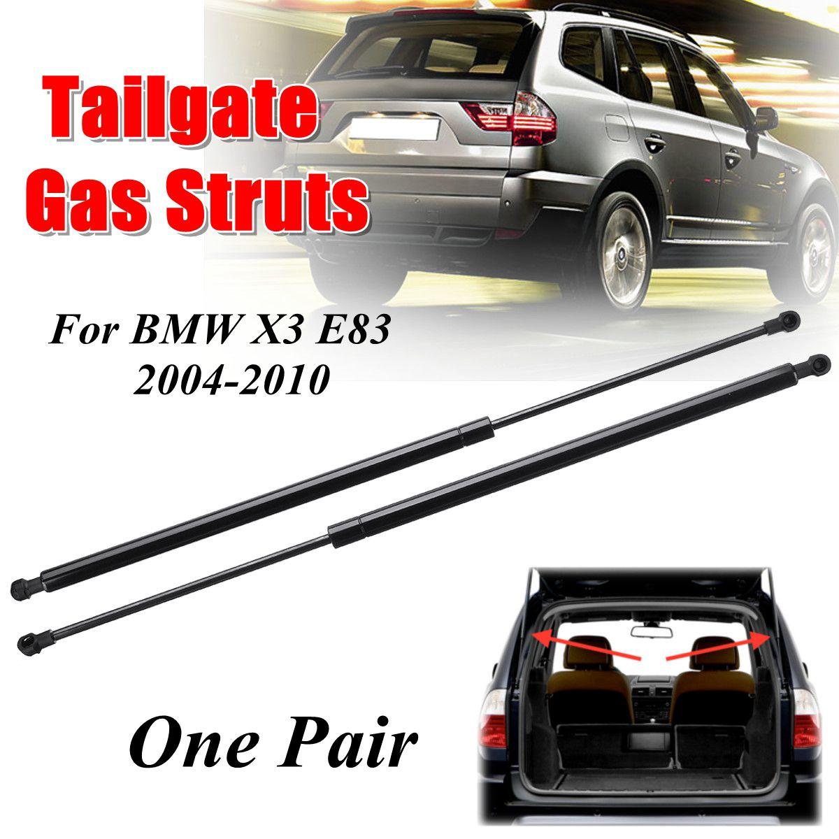 2pcs Car Rear Tailgate Truck Boot Gas Struts Support For BMW X3 E83 2004-2010 512434003792pcs Car Rear Tailgate Truck Boot Gas Struts Support For BMW X3 E83 2004-2010 51243400379