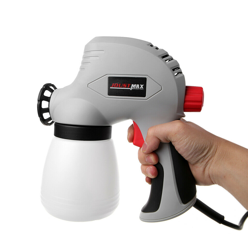 Pistolet de pulvérisation électrique détachable outil pistolet de pulvérisation électrique haute tension réglable pistolet de pulvérisation de peinture de chocolat de gâteau tenu dans la main