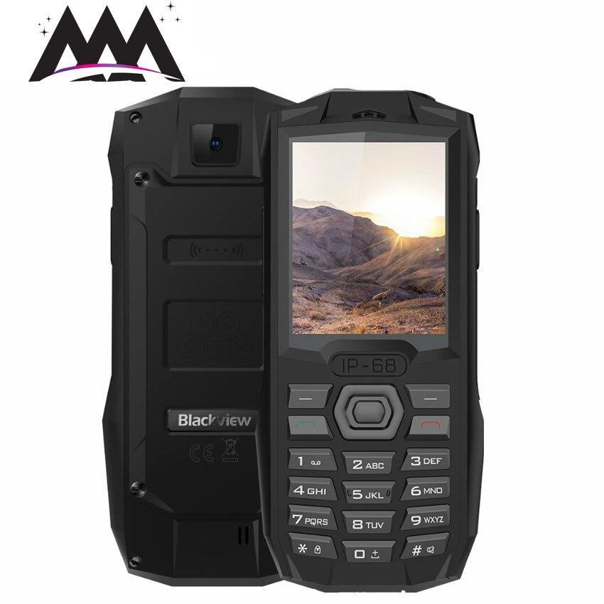 Blackview BV1000 IP68 Waterproof Shockproof mobile phone 3000mAh battery 2.4 inch MTK6261 Dual SIM Flashlight  FM Cell Phones