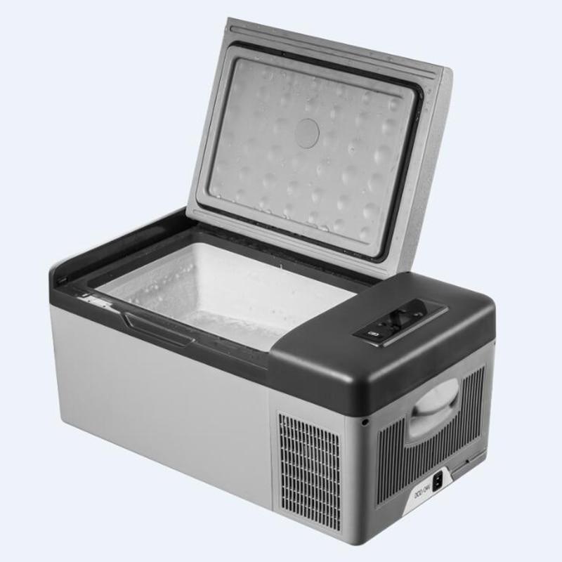15L AC/DC Geladeira Portátil para Carro Início Picnic Camping Festa Qualidade Premium LED Display Digital de Refrigeração Rápida