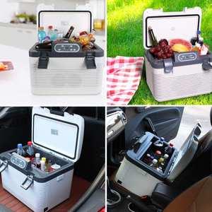 Image 5 - 19L Frigorifero Auto Freeze riscaldamento DC12 24V/AC220V Compressore Frigorifero per la Casa Auto Picnic riscaldamento Refrigerazione 5 ~ 65 gradi