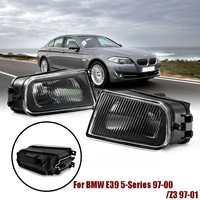 2Pcs Right + Left Fog Light Lamp 63178360575 63178360576 for BMW E39 5 Series 528i 540i 1997 2000 Z3 1997 2001
