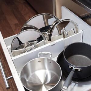 Image 4 - Drawer Separator Telescopic Wardrobe Drawer Divider Board Cabinet Clapboard For Ties Socks Bra Underwear Lingerie Organizer