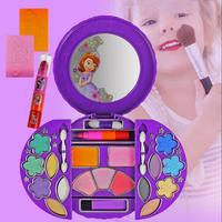 Disney Baby Girls Makeup Box Set Children'S Cosmetics Set Kids Girl Princess Sofia Makeup Box Party Pretend Play House Toy