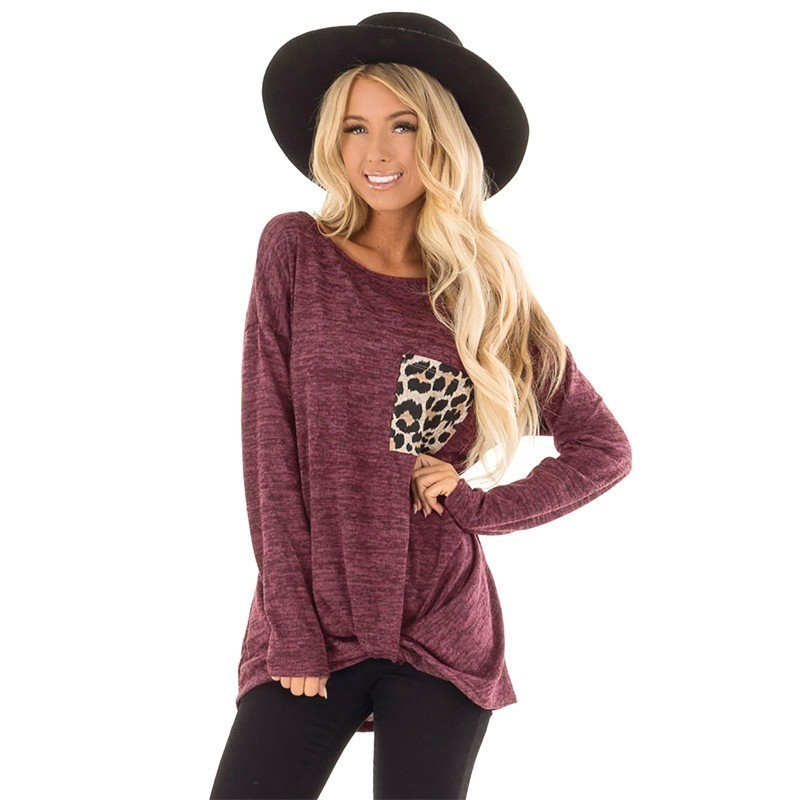 03a71bb85b462 Detail Feedback Questions about Pregnant Maternity Tops Leopard Print  Winter Pregnancy Basic T Shirt Maternity Clothing Long Sleeve Clothes For  Pregnant ...