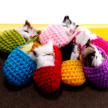 Fashion Handmade woven fluffy cat keychain girl wool slippers artificial rabbit hair key chain cute pompom ring