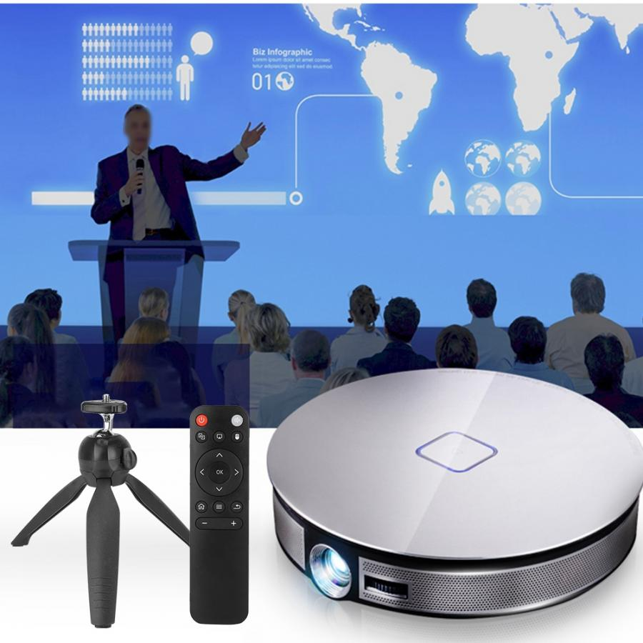 3500 Lumen 300 Inch Projector 4 K Android 6.0 Wifi Draagbare 3d Led Home Video Mini Projector