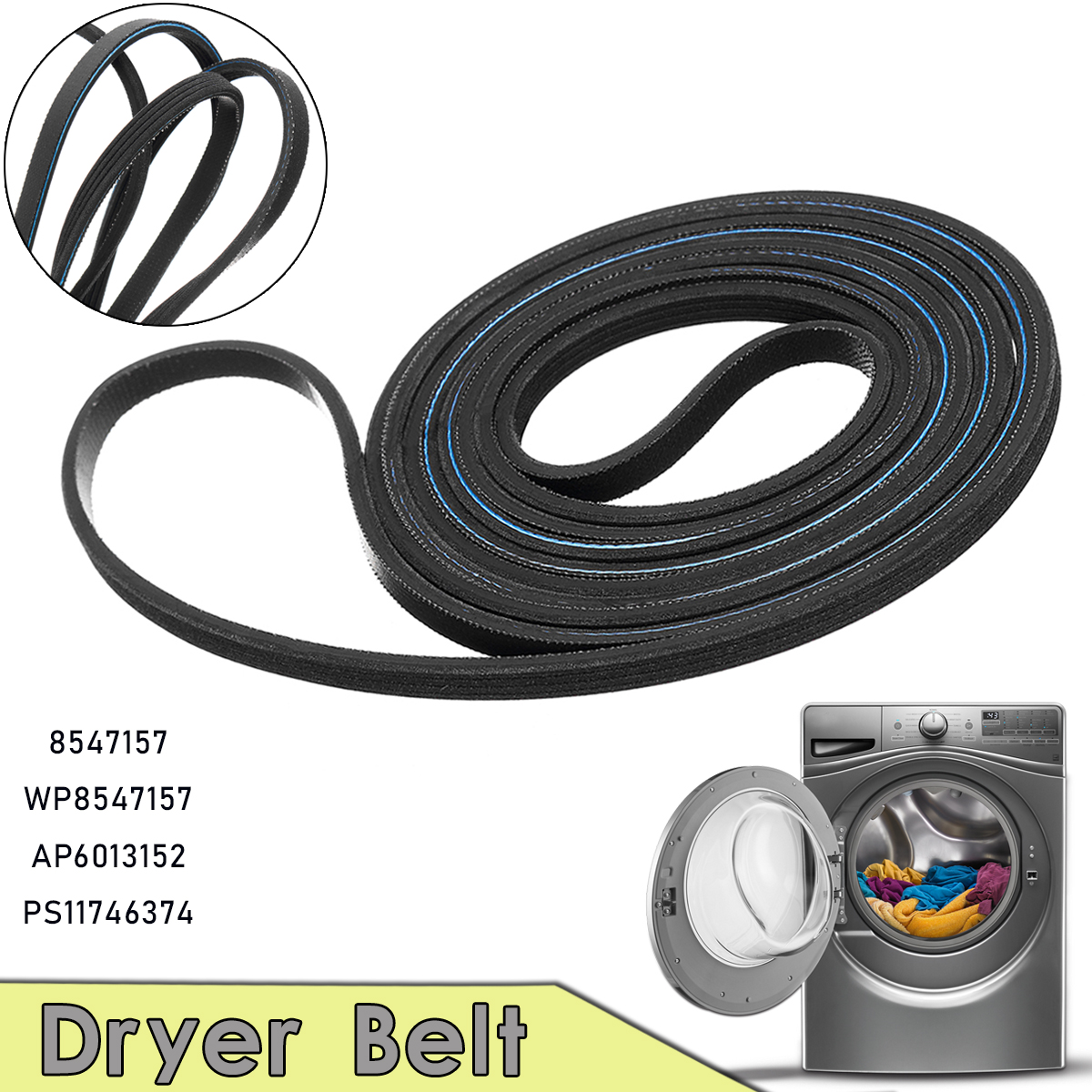 Dryer Belt For Norge Roper Amana Admiral 8547157 WP8547157 AP6013152 PS11746374 norge kongeriget norges grundlov