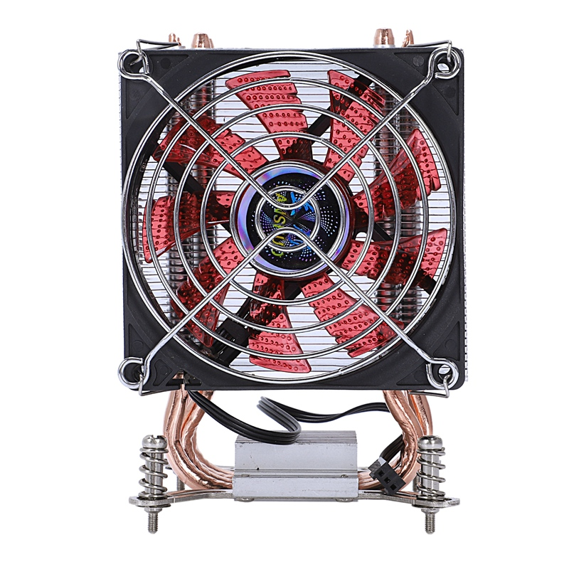 Lanshuo Pure Copper 4 Heat Pipe Thermal Processor Cooler For Lga /1150 / 1151/1155/1156/1366 Intel Multi Platform Cpu Radiator|Fans & Cooling Accessories| |  - title=