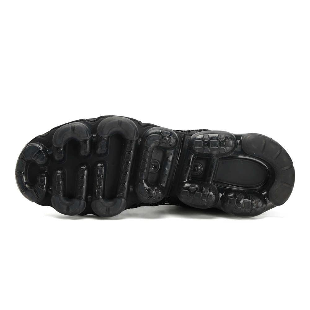 Nike Plus TN Новое поступление Для мужчин кроссовки полная ладонь обувь на воздушной подушке удобные вентиляции брадисейсмическиe кроссовки # AQ8810-001