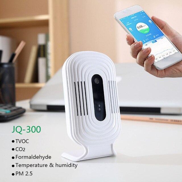 Pflichtbewusst Jq-300 Wifi Digitale Co2 Pm2.5 Hcho Tvoc Formaldehyd Gas Detector Meter Air Analysatoren Monitor Tester Sensor Temperatur Feuchtigkeit Werkzeuge