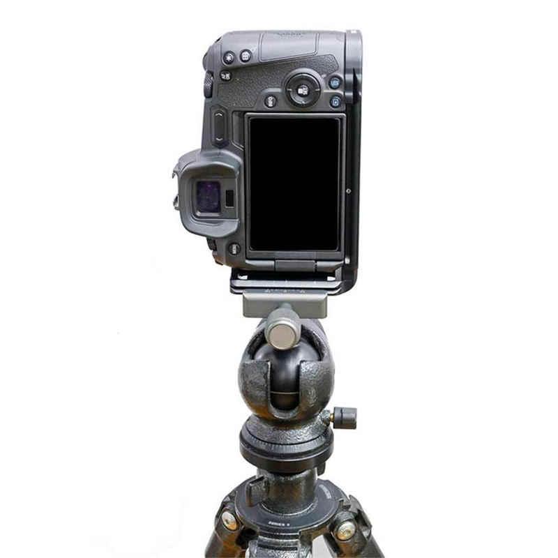 Phát Hành nhanh L Plate Giá Đỡ Tay Cầm Chân Giá Đỡ Dành Cho Máy Ảnh Canon EOS R Camera Cho Máy Ảnh Benro Arca Thụy Sĩ Chân Đầu