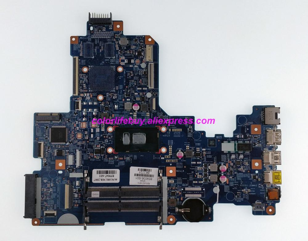 Genuine 859036 601 859036 001 448.08E01.0021 w i3 7100U CPU Laptop Motherboard for HP NoteBook 17 X Series 17T X100 17T X1XX PC-in Laptop Motherboard from Computer & Office