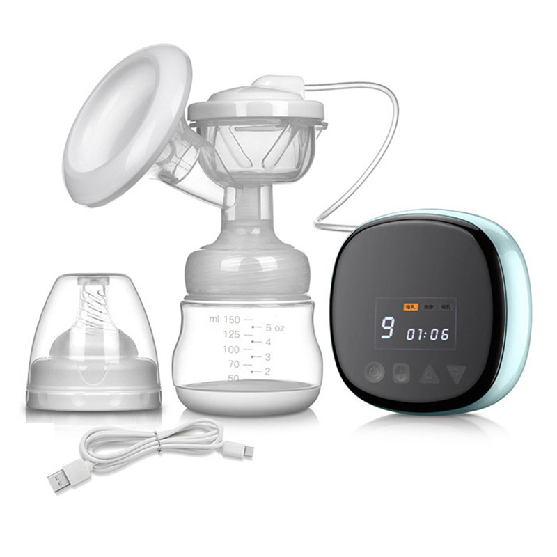Newborn Electronic Breast Pump Automatic Baby Milk Extractor With Infant Breast Feeding Bottle Nipple Suction Feeding Products