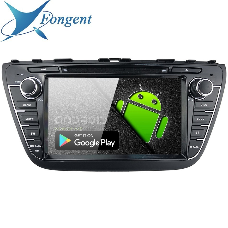 Car 8 inch IPS Android 9.0 DVD Multimedia Radio GPS Navigation system Audio Stereo For Suzuki SX4 S-Cross 2013 2014 2015 2016