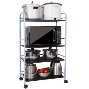 Image 2 - Storage Rack Scaffale Mensole Kitchen Shelf Paper Towel Holder Repisas Y Prateleira Estantes Organizer Trolleys Shelves