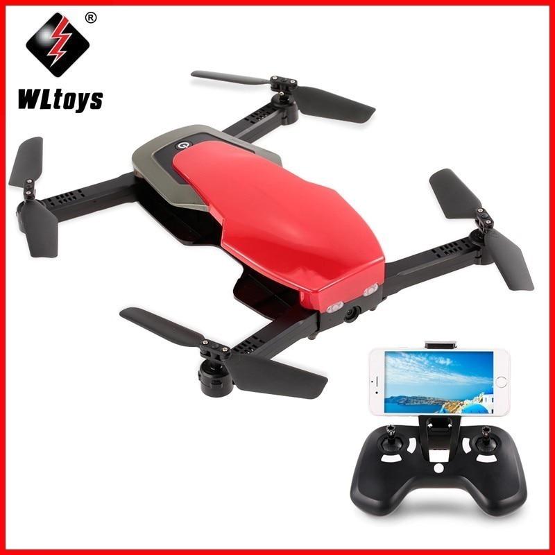 Drone de Q636-B Wltoys avec caméra 720 P FPV pliable Selfie Dron g-sensor positionnement de débit optique Drone de maintien d'altitude VS X12 E58