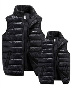 Image 1 - Men Winter Down Quilted Vest Body Warmer Warm Sleeveless Padded Jacket Coat