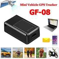 GF08 Mini SIM GPS Tracker GSM GPRS dispositivo de seguimiento en tiempo real de Rastreador para niños mayores