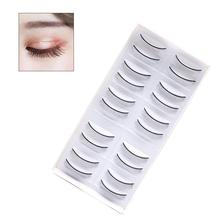 Grafting Eyelashes Extensions Special Practice False Self-Adhesive 10-pair Arcs 8MM
