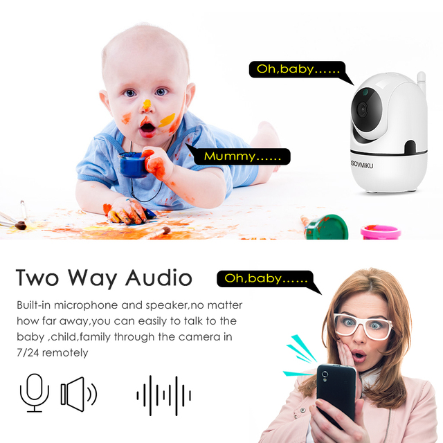 HD 1080P Cloud IP Camera WiFi Wireless Smart Auto Tracking Of Human Home Security Surveillance CCTV Network Camera Baby Monitor 3