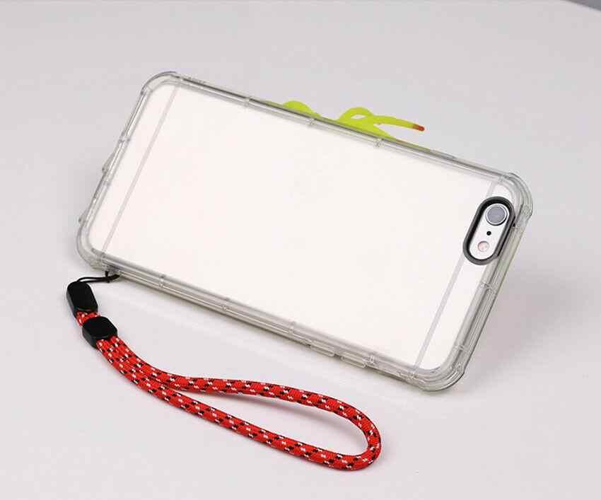 ¡Novedad! Correa de cordón de mano para la muñeca para teléfono iPhone 7 8X6 unidades Flash USB llaveros DSLR cámara GoPro soportes L30