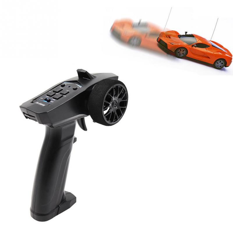 Image 2 - Brand New High Quality Professional RC 3CH 2.4GHz 3CH Digital Radio Remote Control Transmitter with Receiver for RC Car or Boat-in Parts & Accessories from Toys & Hobbies