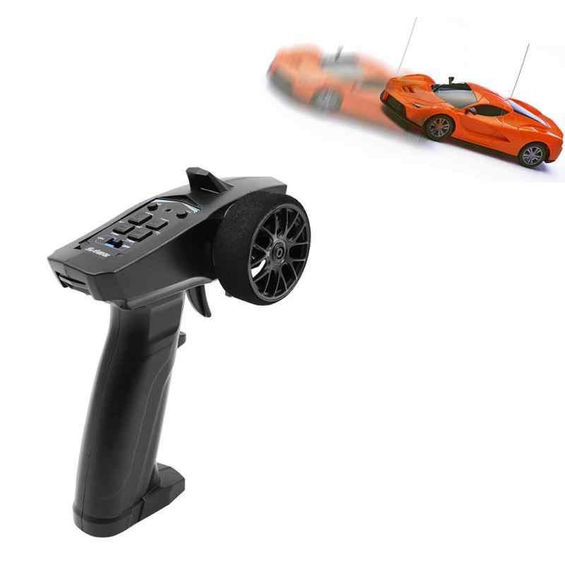 Brand Nieuwe Hoge Kwaliteit Professionele RC 3CH 2.4GHz 3CH Digitale Radio Afstandsbediening Zender met Ontvanger voor RC Auto of Boot