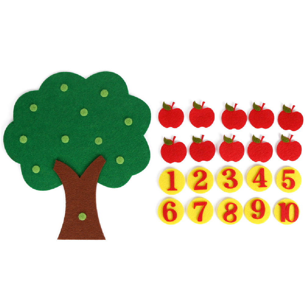 Baby Manual DIY Education Christmas Tree Can Be Pasted On The Wall Healthy And Harmless Children 39 s Bedroom Decoration Supplies in DIY Craft Supplies from Home amp Garden