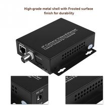 1Pair Ethernet IP Extender Over Coax HD Network Kit EoC Coaxial Cable Transmission Extender for Security CCTV Cameras