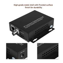1 par extensor ip ethernet sobre kit de rede coaxial hd eoc cabo coaxial extensor de transmissão para câmeras de segurança cctv ferro