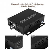 Extensor de cabo ethernet sobre coax hd, kit de rede eoc coaxial de transmissão para câmeras de segurança cctv, 1 par