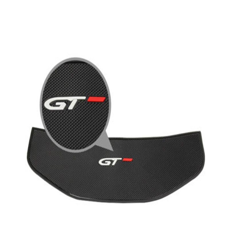 Noir voiture intérieur tableau de bord affichage anti-dérapant en caoutchouc pour GT 2016-2018 Peugeot 3008 5008 100% tout neuf
