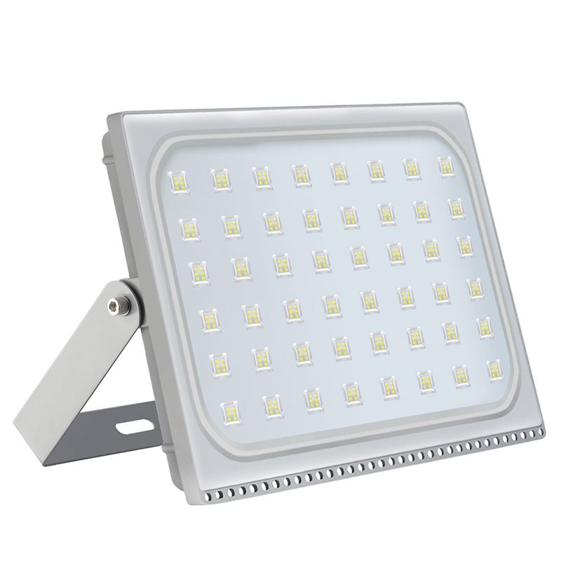 4PCS Ultra Thin LED Floodlight 300W IP65 Waterproof Flood Light Led Outdoor Lighting AC110V 220V 288 LED Spotlight 24000LM