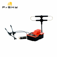 FrSky R9M 900MHz Transmitter Module+R9 MM 4/16CH Receiver W/ Mounted Super 8 & Ipex4 T Antenna for Drone Quadcopter Aircraft