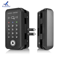2000 Users Keyless digital LOCK ID Card Lock smart access control 125KHZ rfid card reader system for lots of Doors install easy