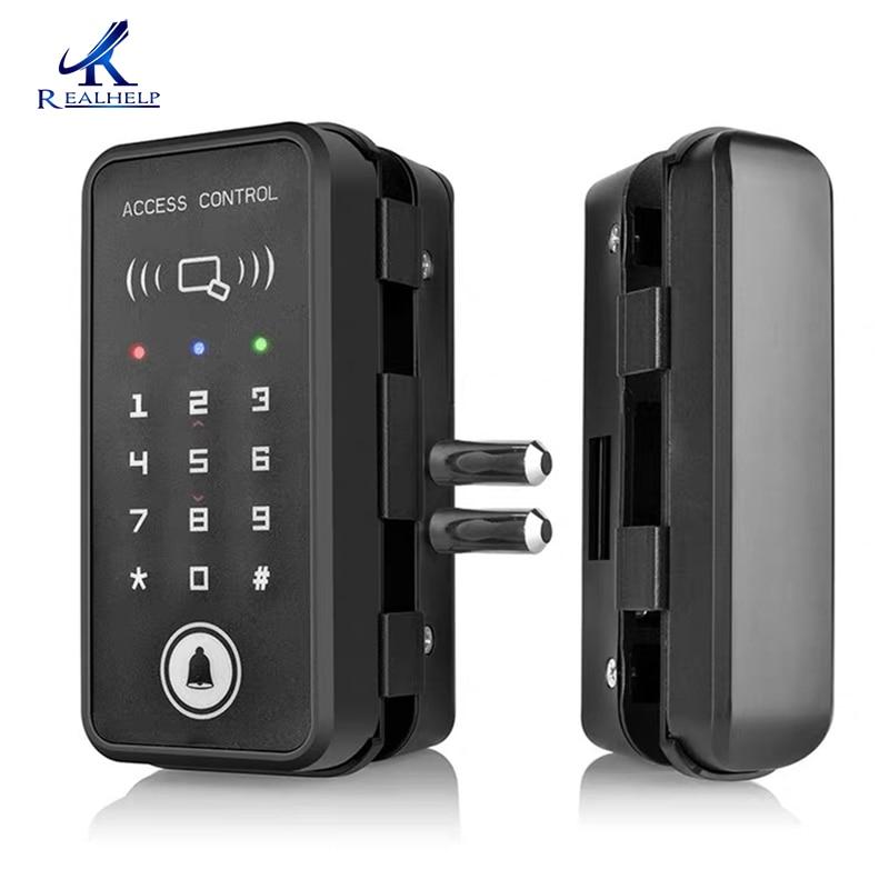 2000 utilisateurs sans clé serrure numérique serrure de carte d'identité contrôle d'accès intelligent 125KHZ rfid lecteur de carte système pour beaucoup de portes installer facile